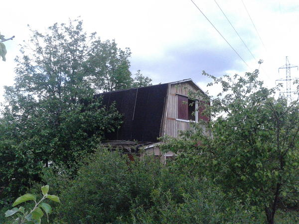 так выглядел дом снаружи