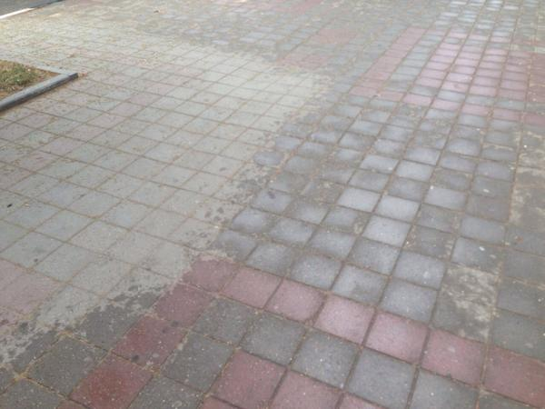 Ура:) В Новороссе прошел дождь и даже намочил асфальт:)))
