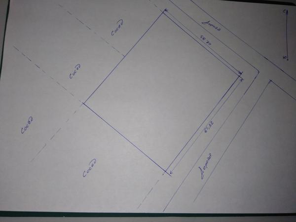 План нашего участка