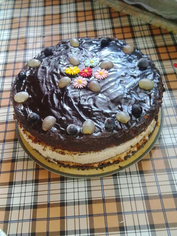 вот такой получился торт-суфле