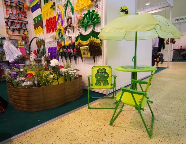 детский зонтик со столиком и креслицами