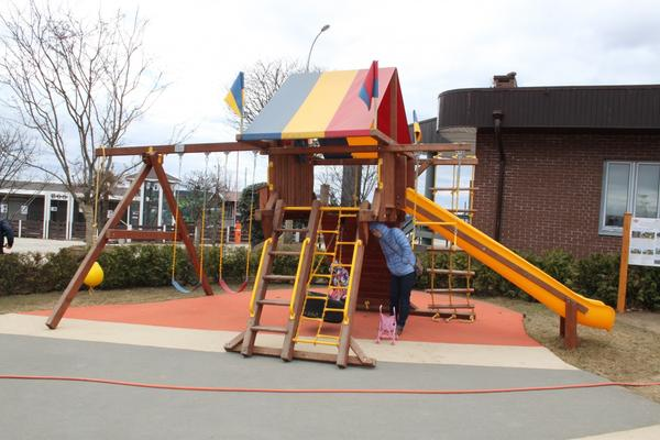 детская площадка в Imperial Garden