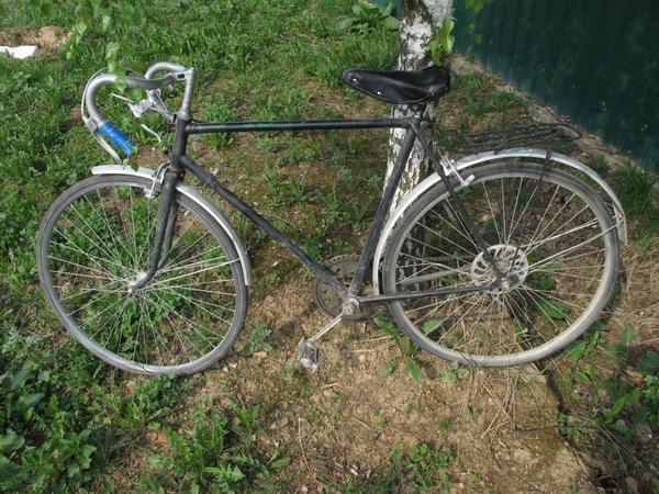 велосипед Спутник - транспорт для дачи