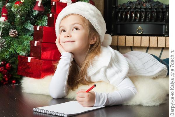 ребенок, письмо деду морозу, новый год