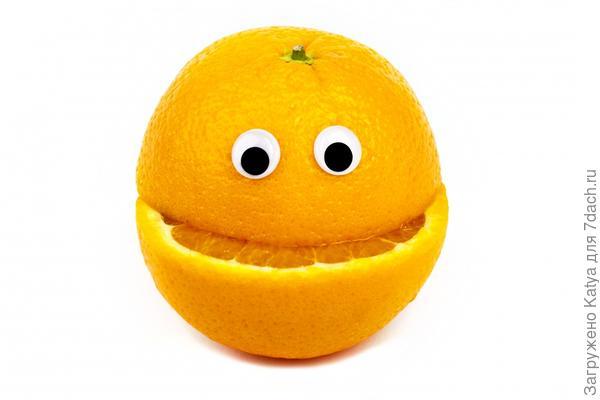 мандариновый монстрик