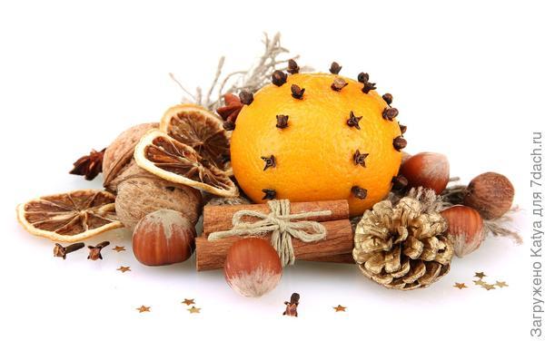 мандарины и пряности