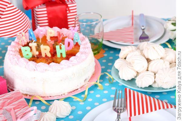 детский праздничный торт