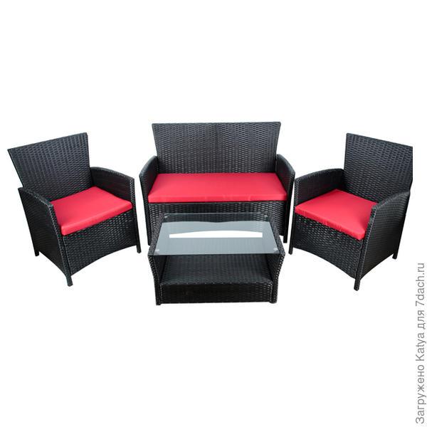 Набор мебели искусственный ротанг Palermo