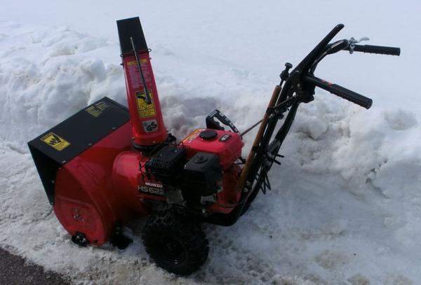 Самоходный снегоуборщик Honda
