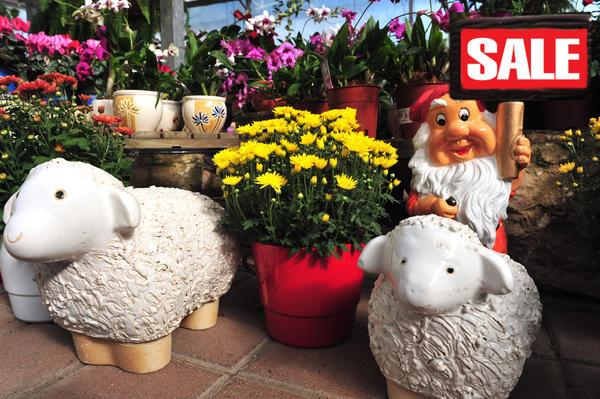 Распродажи садового инвентаря