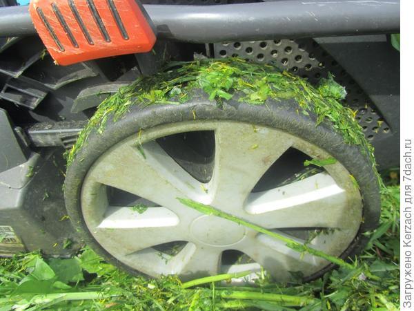 колесо от газонокосилки