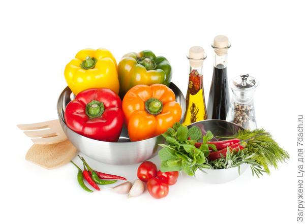 Продукты для маринованного перца