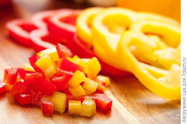 Замораживайте перец, как заправку для блюд