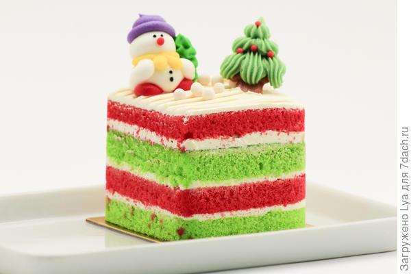 Торт со снегвиком