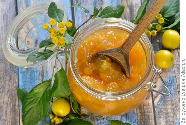 Варенье из тыквы и апельсинов