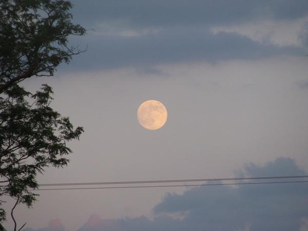 Полная луна)))