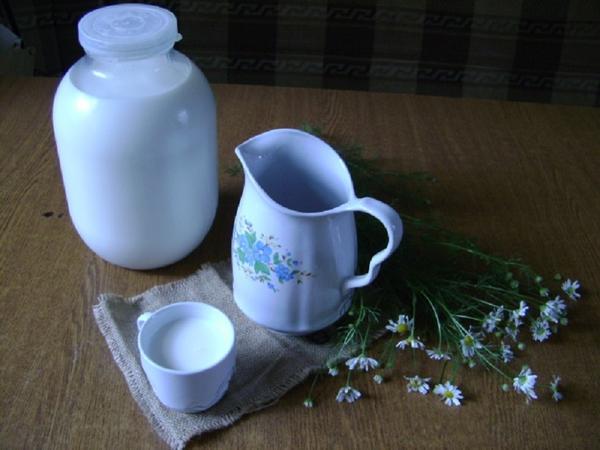 Молоко на завтрак