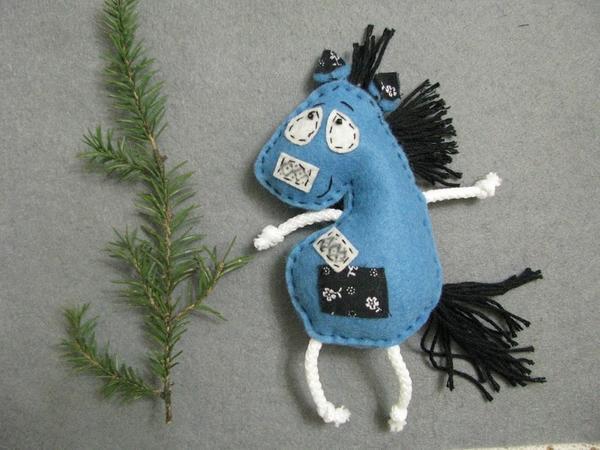 Лошадка для стрижки готова)
