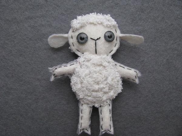 Белая овечка готова!