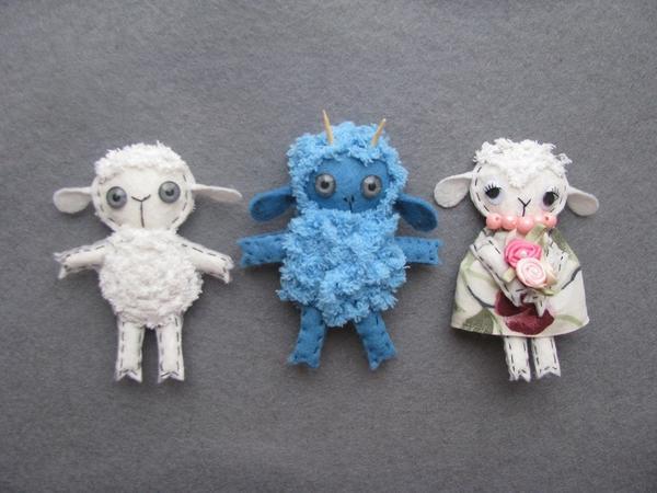 Три овечки по одной выкройке