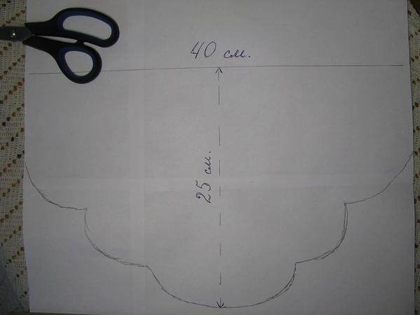 Схема тушки на бумаге
