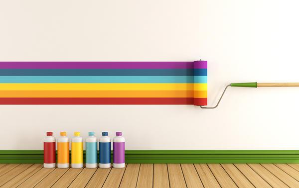 Все о выборе краски для стен: водно-дисперсионные