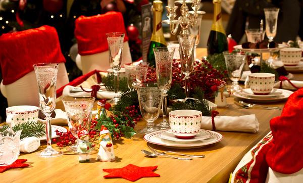 Дизайн праздничного стола