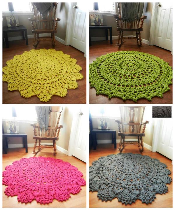 Коврики разных цветов