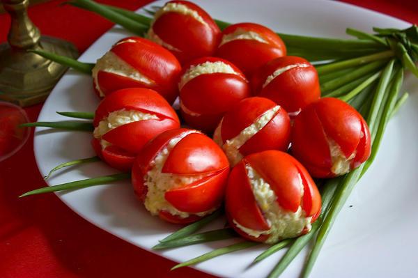 Салат Тюльпаны готов!