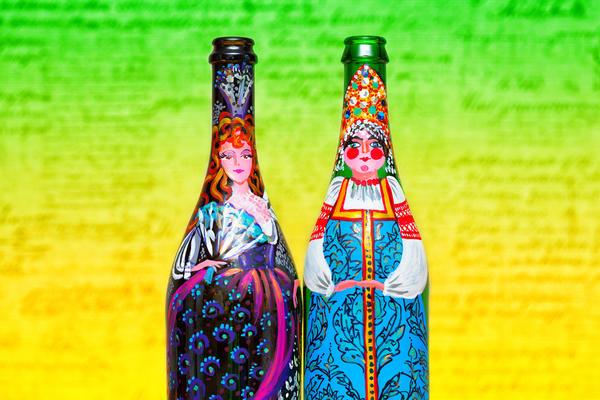 74c1c9 Декор бутылок своими руками: вдохновляющие идеи