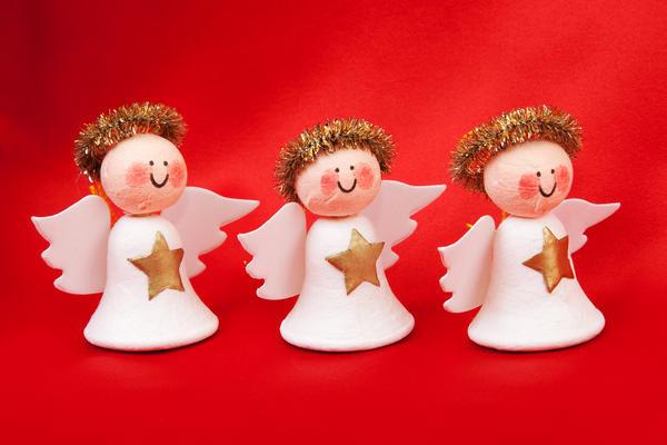 Колокольчики в виде ангелочков