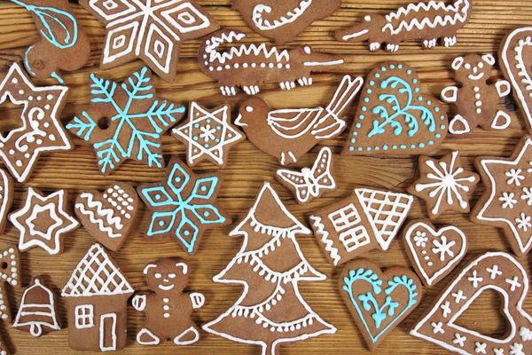 Традиционное рождественское печенье