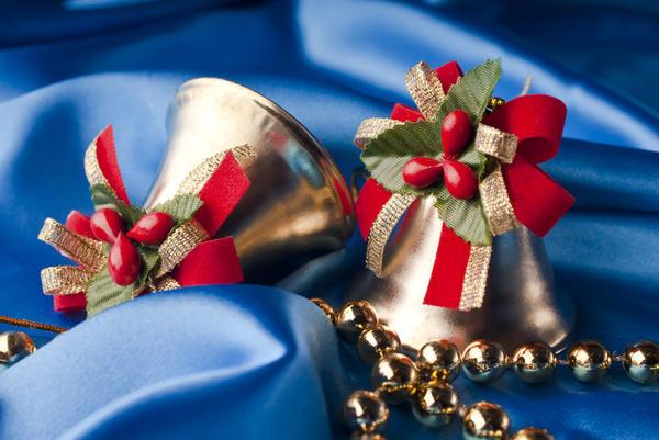 Подарите близким на Рождество маленький декоративный колокольчик