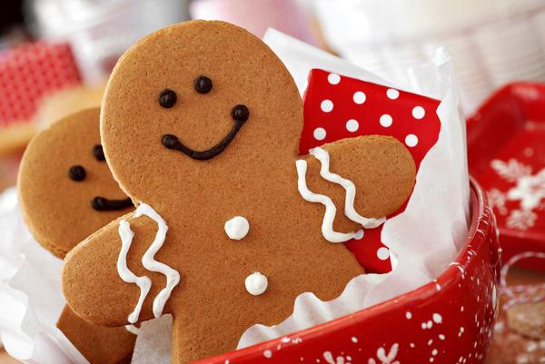 Печенье с имбирем один из самых популярных рождественских десертов в Англии
