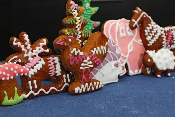 Козули — традиционная русская рождественская выпечка