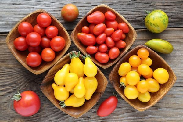 Необычные томаты: перцевидные, грушевидные, черри