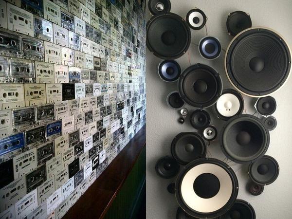 Старые кассеты и динамики. Фото с сайта ru.pinterest.com