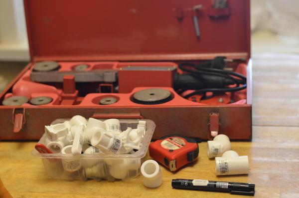 Аппарат для сварки полипропиленовых труб. Фото автора