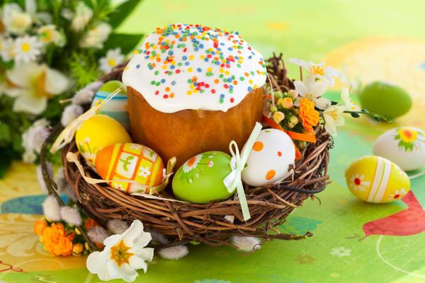 Кулич - одно из главных угощений на праздник Великой Пасхи