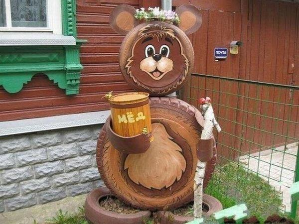 Медвежонок-пасечник. Фото с сайта social.vb.kg