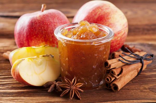 Желе из яблок