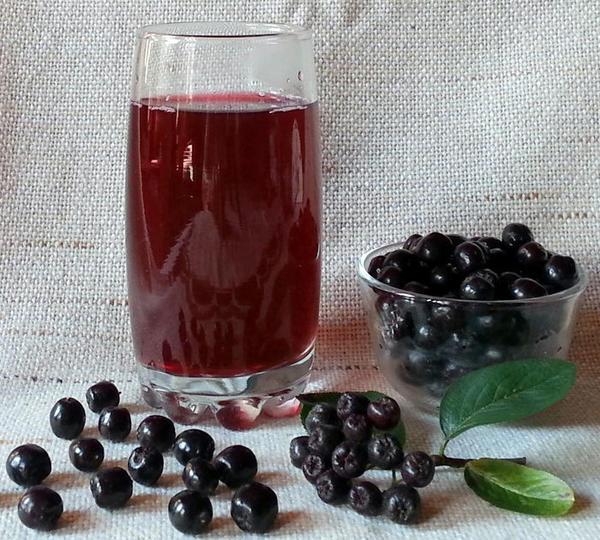 Сироп из черноплодной рябины. Фото с сайта nkj.ru