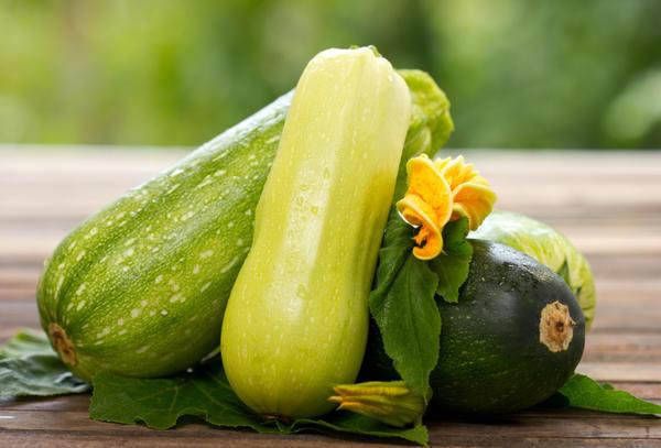 Кабачки выводят токсины из организма. Фото с сайта greenlife.com.pl