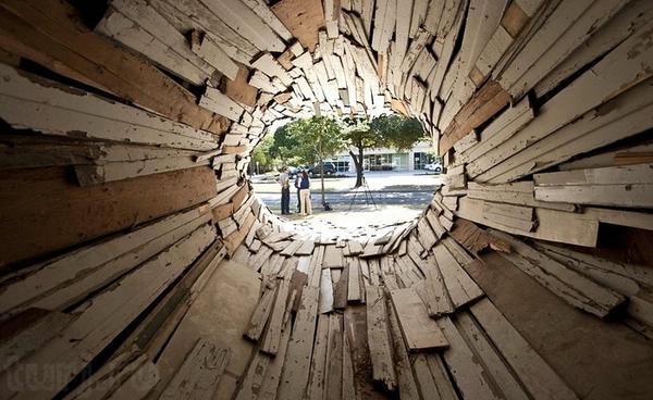 Так выглядит дом-туннель внутри. Фото с сайта turj.ru