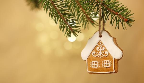 Печенье - отличная идея для украшения елки!
