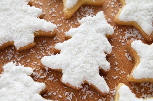 Печенье Кокосовые елочки