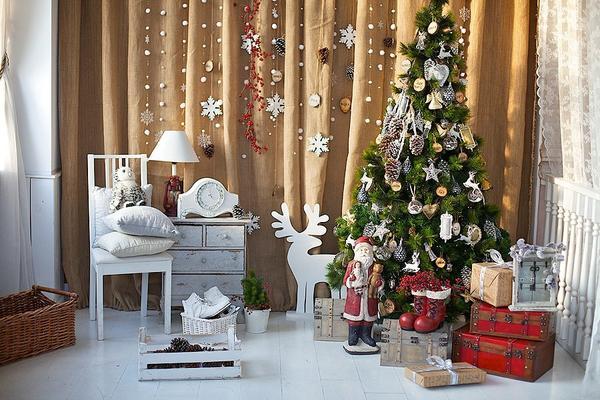 Елка в детской комнате. Фото с сайта new-year-party.ru