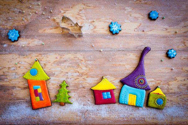 Настенный новогодний декор для детской