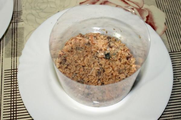 Первый слой салата