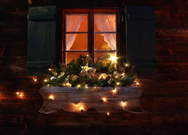 Волшебное освещение ночью